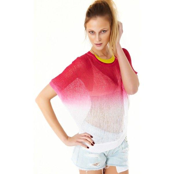 Blusa tricot Tie Die