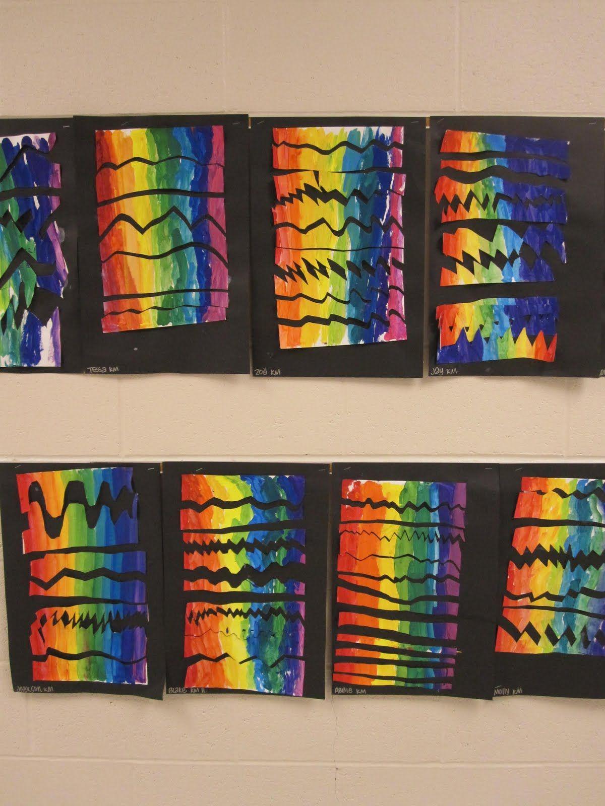 Rainbow Vertical Amp Horizontal