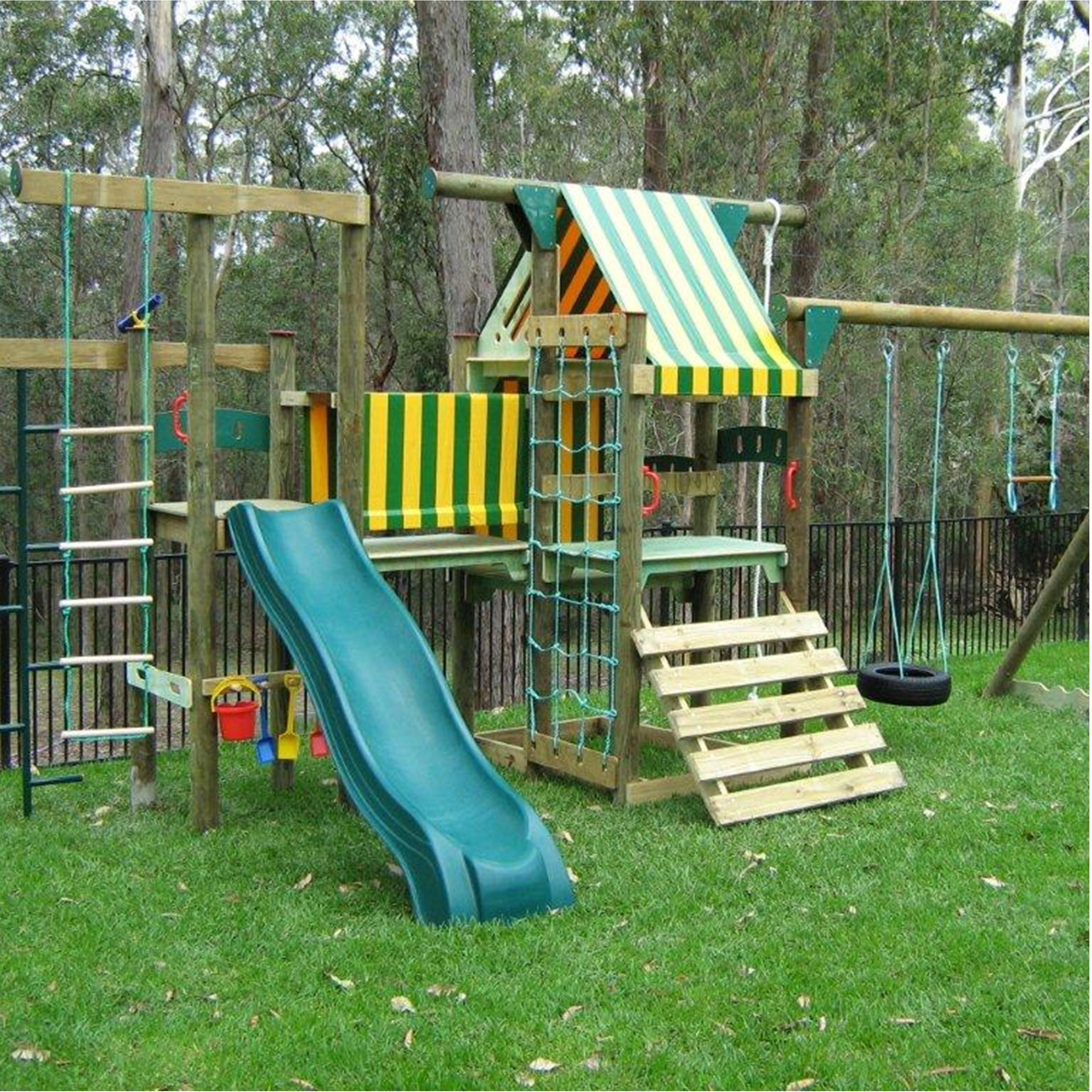 buy residential peppertown playgrounds cubby house fun stuff for
