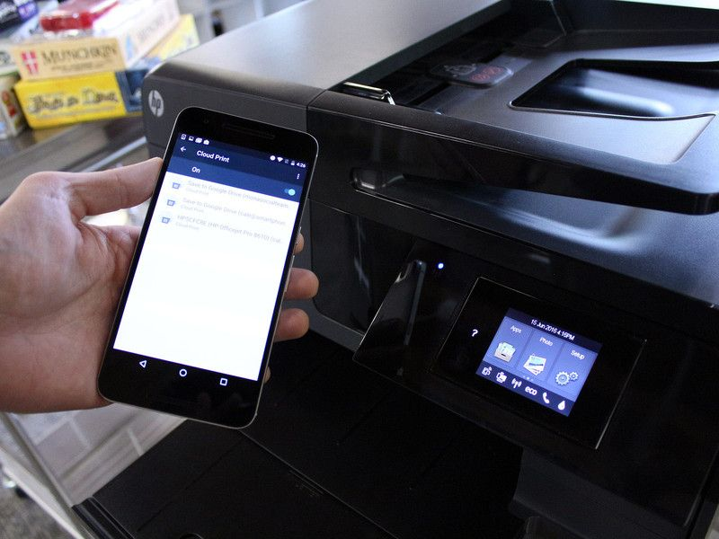 Google has designed a cloud printing app that works with