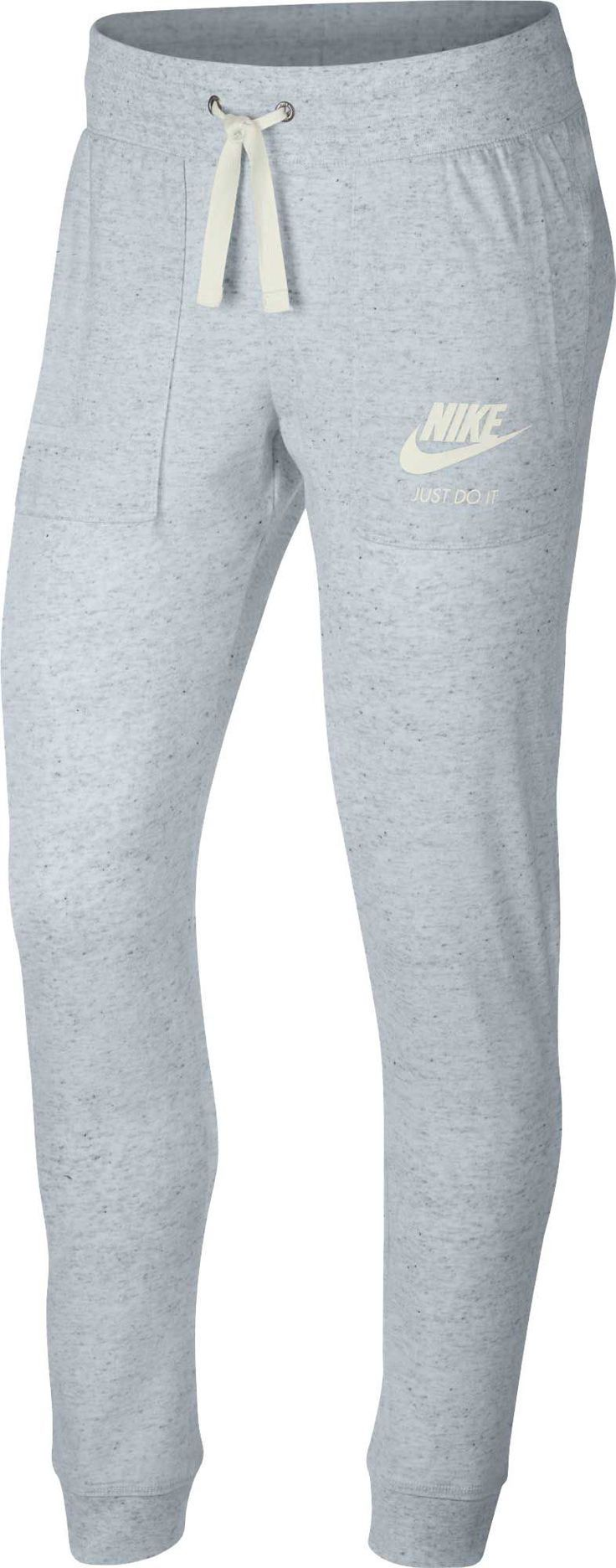 Pantalones Vintage Nike Sportswear Gym Para Mujer Talla Xs Gris Pantalones Vintage Ropa Ropa Deportiva
