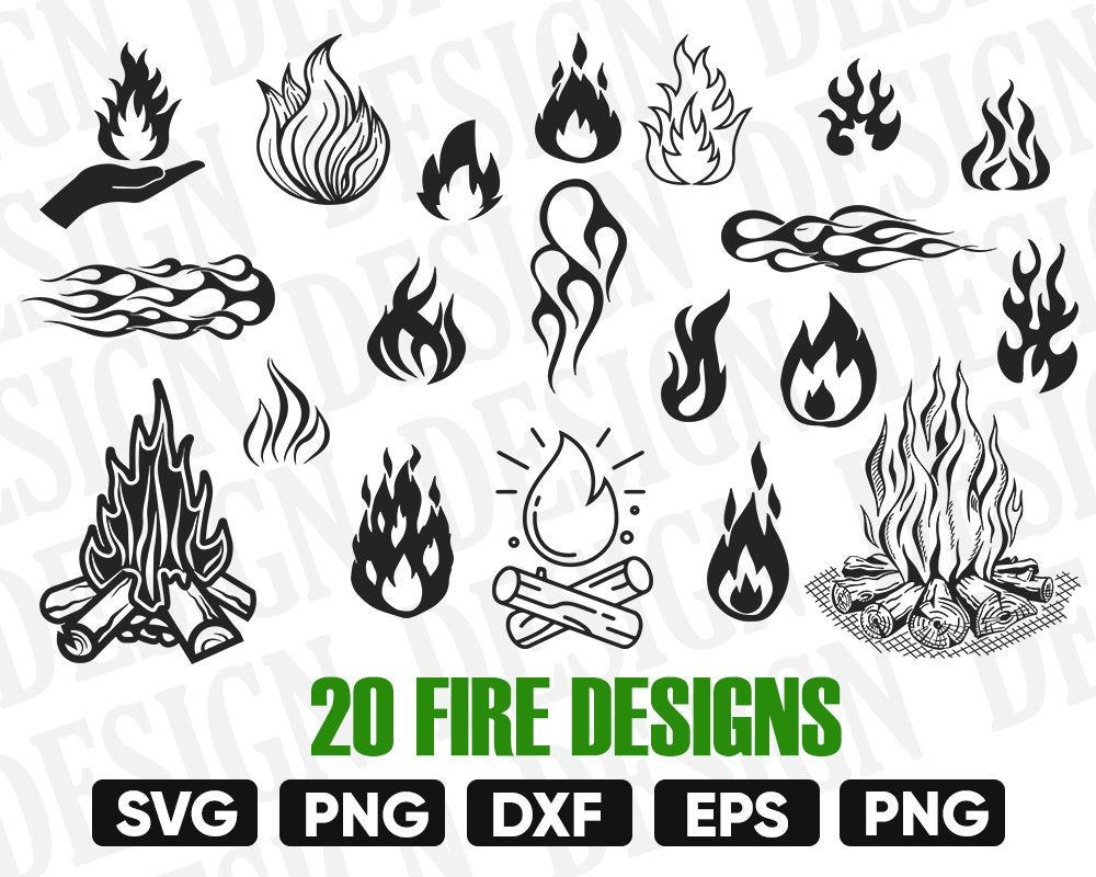 Flame Svg Fire Svg Flame Clipart Fire Vector Flame Vector Etsy In 2021 Fire Vector Clip Art Printable Decor