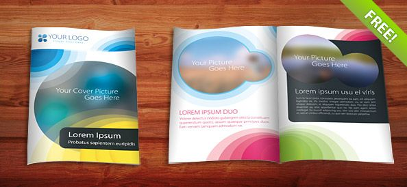 Brochure Templates Psd  Brochure Templates    Brochure