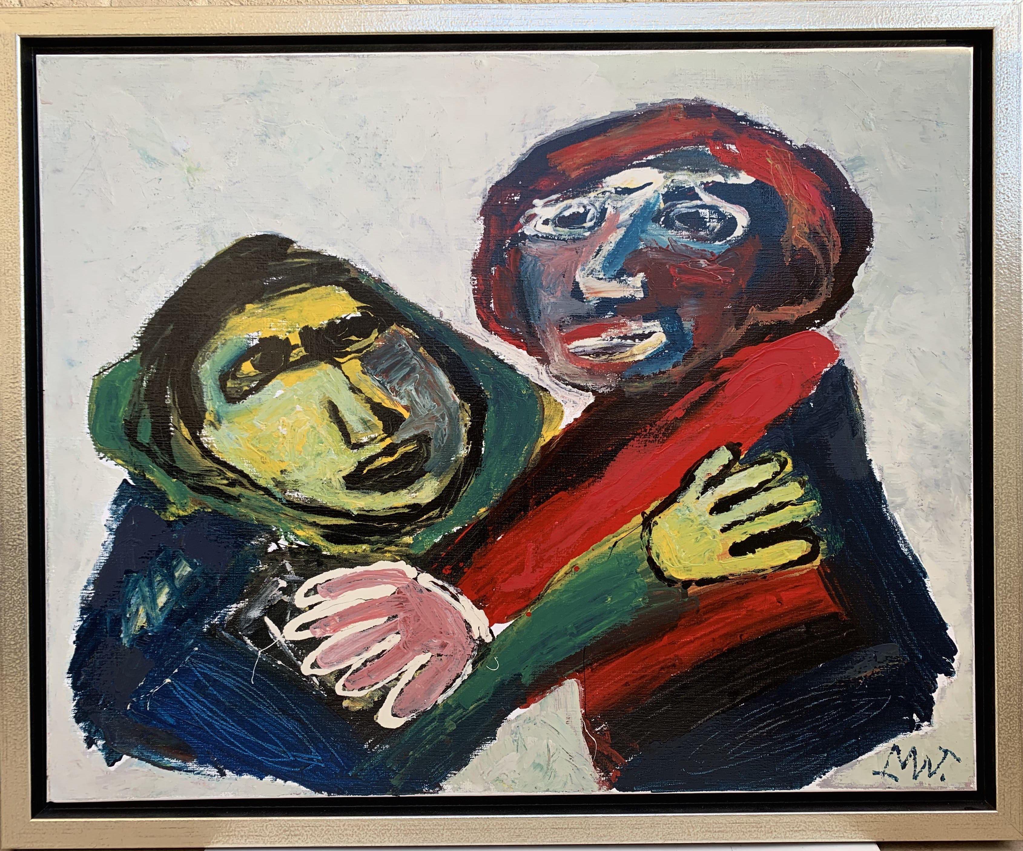 Portratmalerei Gedenkplakette Der Kuss Der Sirenenrahmen