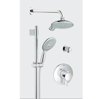 view the grohe 35 052 grohflex shower system includes trim shower head hand