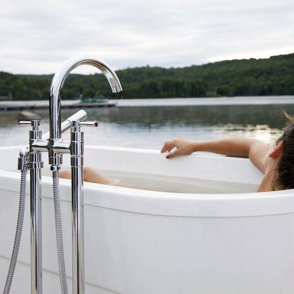 tub fillers for freestanding tubs. Riobel Pallace Freestanding Tub Filler  PA06L 6 with Lever Handle