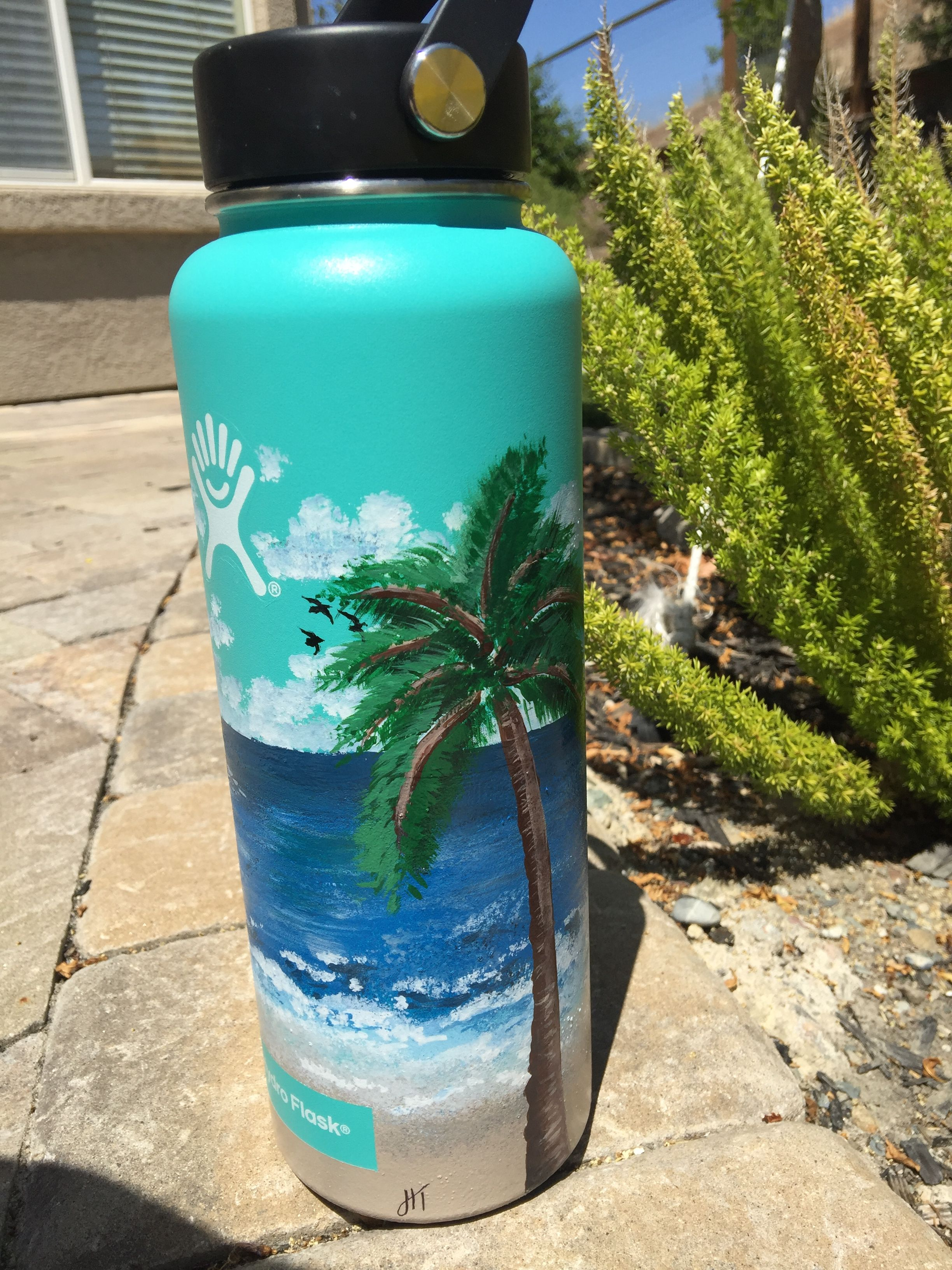 Diy Hydro Flask 3 Water Bottle Art Hydro Painting Flask Art