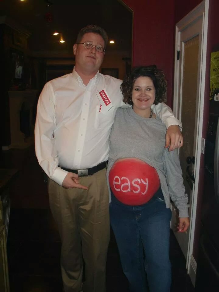 Funny Halloween Costumes For Pregnant Couples.Dress That Bump Easy Halloween Costumes For A Pregnant Belly
