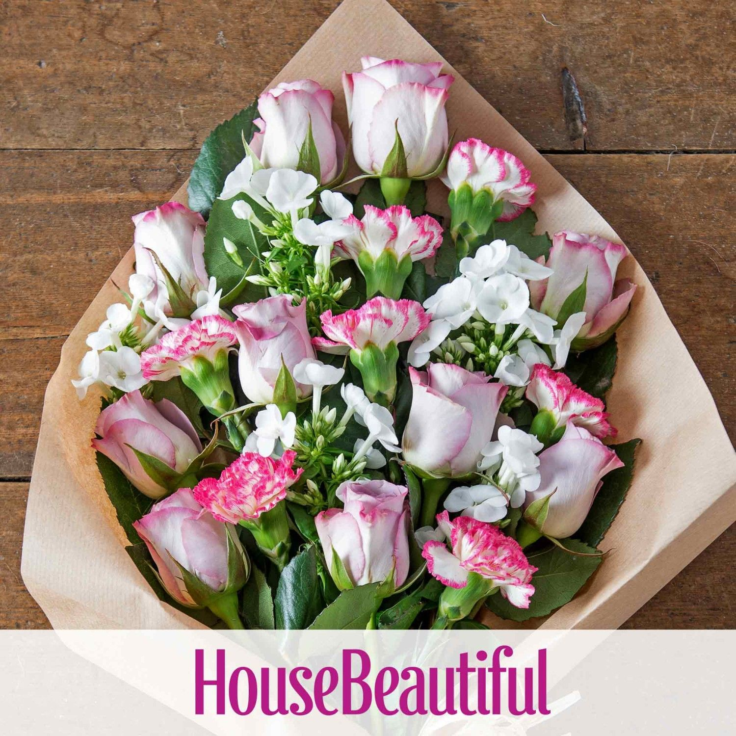 Elegant Rose Phlox And Carnation Mothers Day Flowers Flowers Delivered Flowers