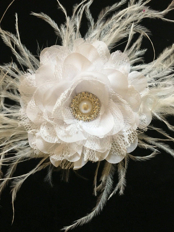 d9a05f0d845f White Flower Clip