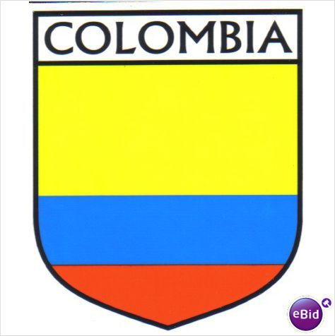 Colombia flag country flag of colombia decal sticker on ebid malaysia 69532407