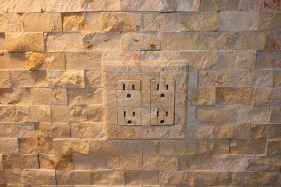 Outlet Amp Switch Covers To Match Kitchen Backsplash Tile Terrafaux Kitchen Backsplash Ideas