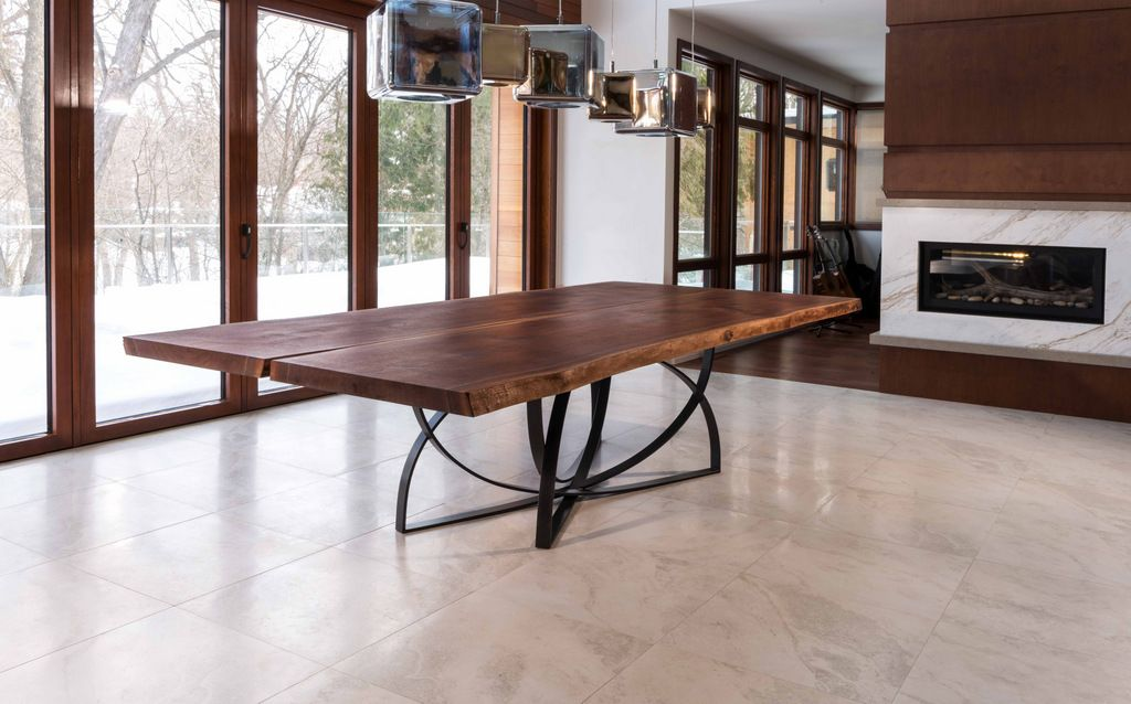 Live Edge Hardwood Dining Tables By Cherrywood Studio In Toronto, Ontario