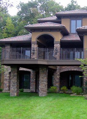 Faux Stone Siding, Man Made Stone Cladding, Exterior House Designs ...