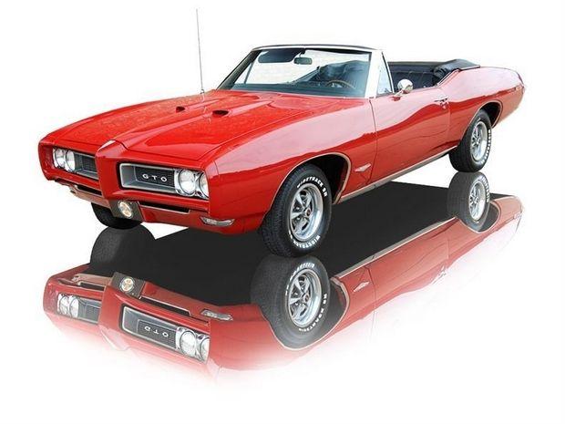 1968 Pontiac Gto Convertible 400 V8 Car Pictures Pontiac Gto 1968 Pontiac Gto Pontiac