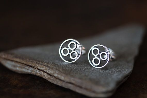 Hey, I found this really awesome Etsy listing at https://www.etsy.com/listing/229618496/handcrafted-geometric-stud-earrings