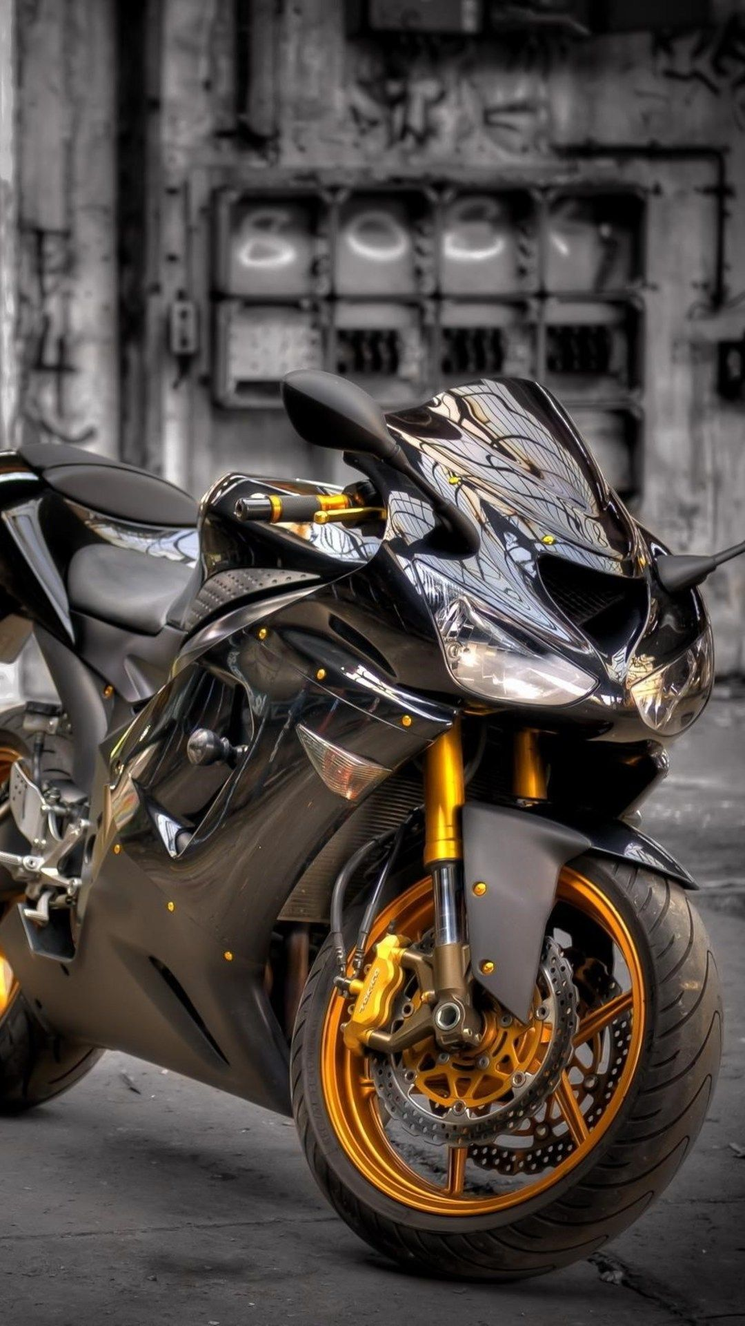 Kawasaki Zx6r In 1080x1920 Resolution Motorcycle Wallpaper Kawasaki Zx6r Moto Wallpapers