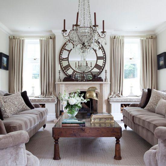 Elegant sitting room Decor ideas Pinterest - wohnideen wohnzimmer landhausstil