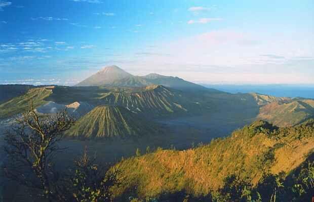Gunung Semeru Foto Wisata Pegunungan Indonesia
