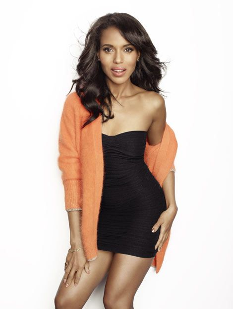 Kerry Washington's just out of bed look. | Fav Celebs ...