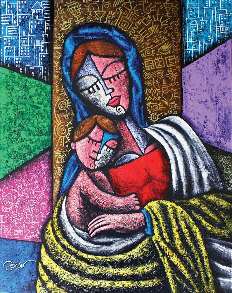 CERON - Pop Art Miami - Neo-Pop Cubism Artist – Art Miami, Colombian ...