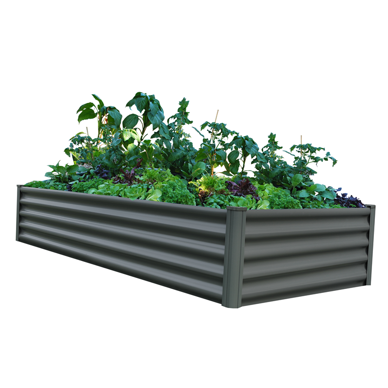 Find The Organic Garden Co 200 x 100 x 41cm Karaka Raised