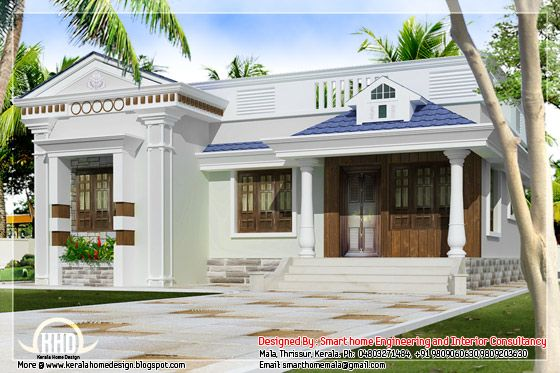 Phenomenal Kerala Style Budget Villa Single Floor Villas In 2019 Download Free Architecture Designs Intelgarnamadebymaigaardcom