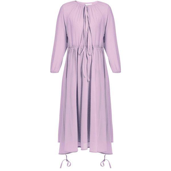 Wrap-skirt stretch-tulle midi dress VETEMENTS z4i1tJ