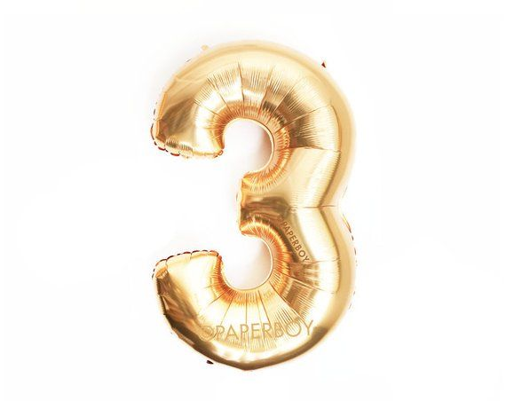 """ROSE GOLD,GOLD Number BALLOON 32/"""" FOIL Air Fill BALLOONS Any Name Age Phrase"""