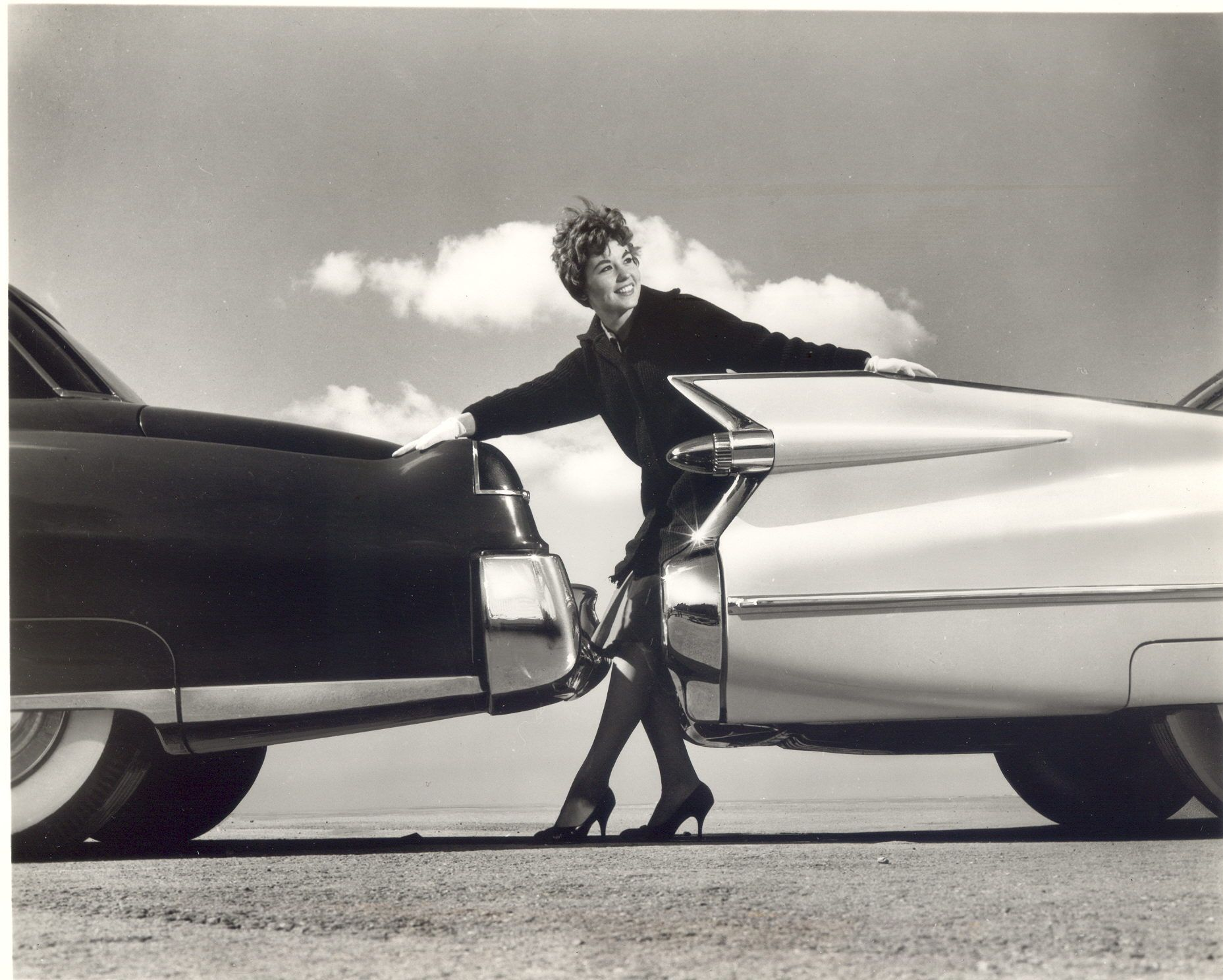 59 Cadillac Fins