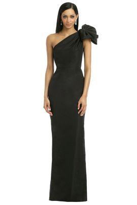 Carolina Herrera Black Kennedy Gown