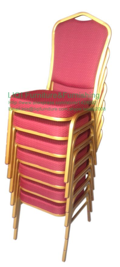 Quality Cheap Strong Stackable Iron Banquet Chairs Lq T1030