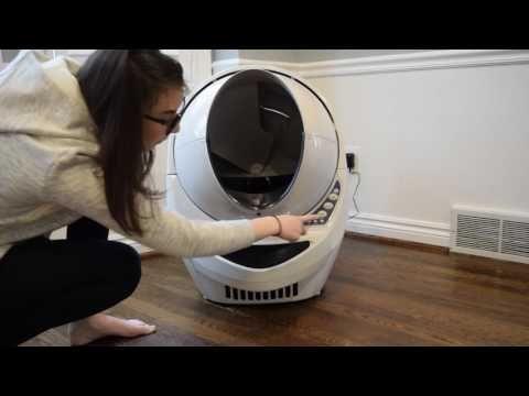LitterRobot Open Air Stops MidCycle YouTube Litter