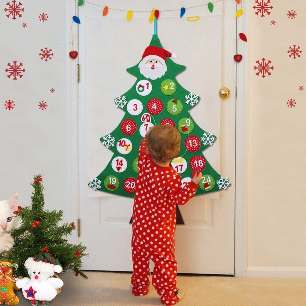 Countdown Natale.Natale Countdown Calendar Nuovo Anno Arredamento Per La Casa