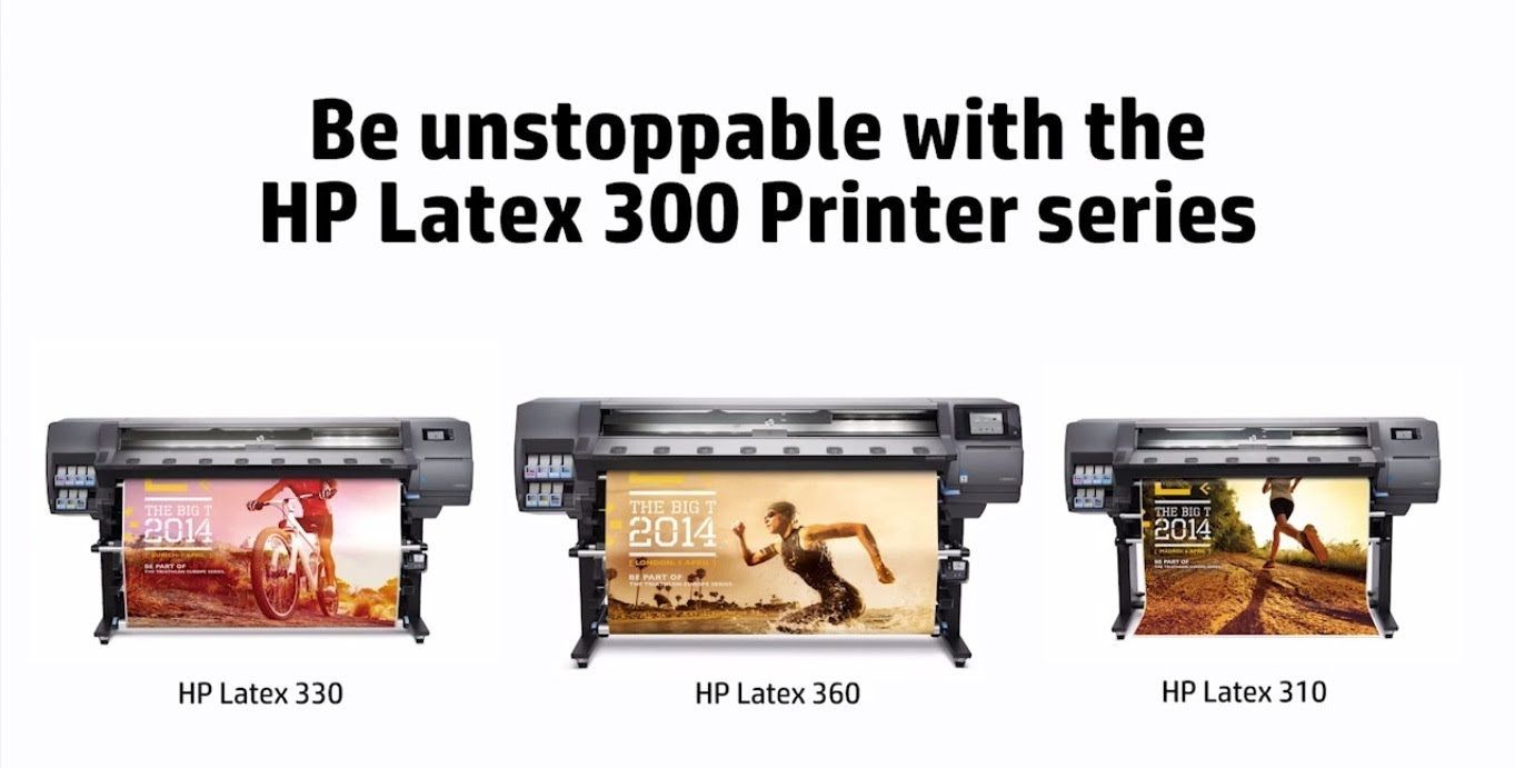 Pin On Hp Latex 360 Printer