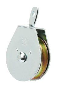 Crown Bolt 62876 1 1 2 Inch Zinc Plated Swivel Single Pulley Silver By Crown Bolt 8 91 From The Manufacturer 1 1 2 Inch Single Sw With Images Zinc Plating