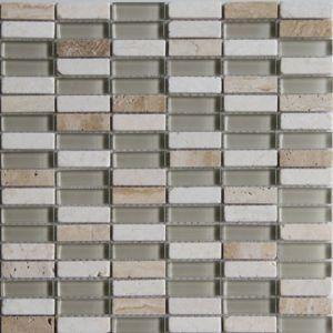 Best Belluno Beige Glass Marble Mosaic Tile L 304Mm W 298Mm 400 x 300