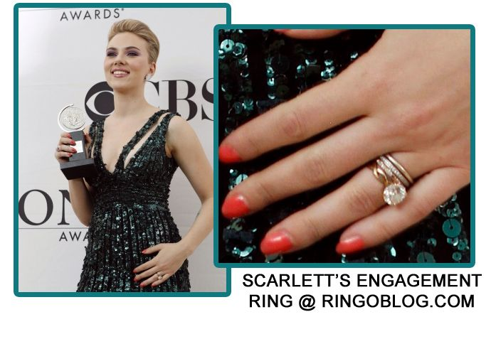 Blake Lively Engagement Ring Vs Scarlett Johansson 31 Engagement