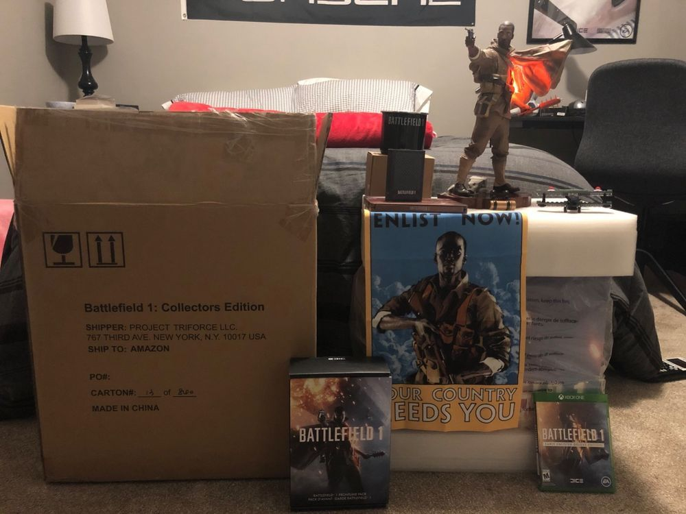 Battlefield 1 Collector S Edition With Xbox One Game And Extras