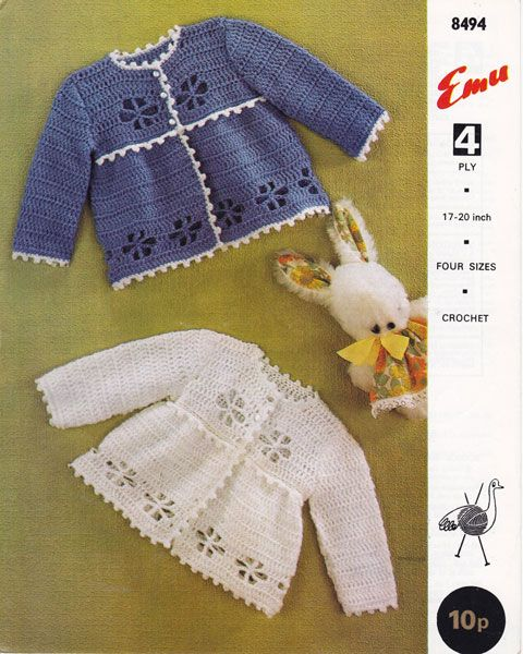 vintage baby crochet patterns | Crochet Patterns/Free and for Sale ...