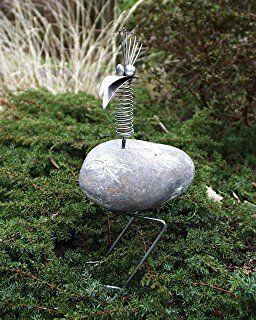 Alex Sitzend Gartenfigur Und Gartendeko Als Edelstahl Steinvogel Grosse Ca 20 Cm Eisenfigur Design Tiedem Metall Gartenkunst Metallkunstprojekte Altmetallkunst