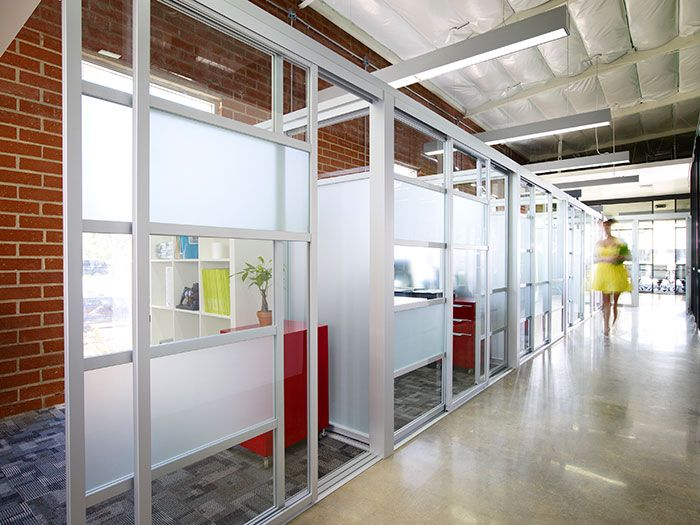 We manufacture install glass office partitions cubicles - Best way to soundproof interior walls ...