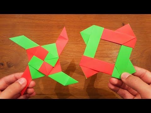 how to make a paper infinity cube instructions