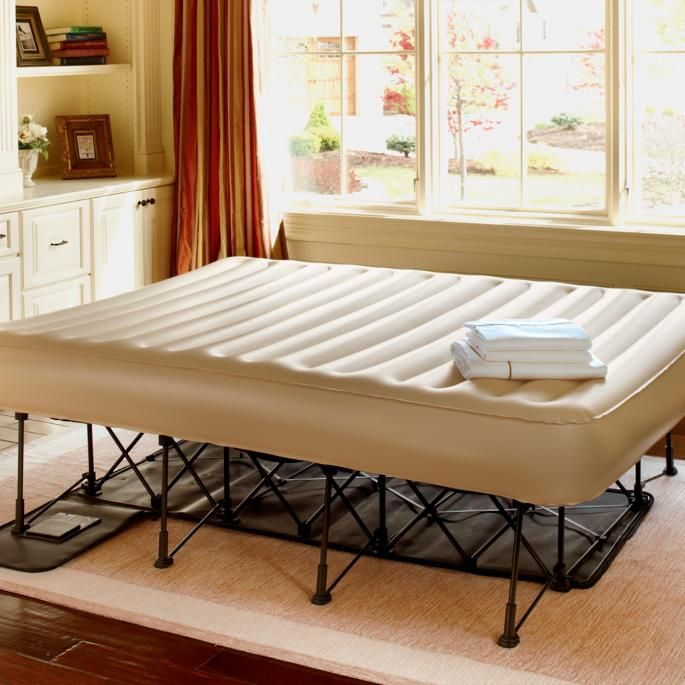 Ez Bed Inflatable Guest Bed With Constant Comfort Pump Guest Bed Inflatable Bed Bedroom Furnishings