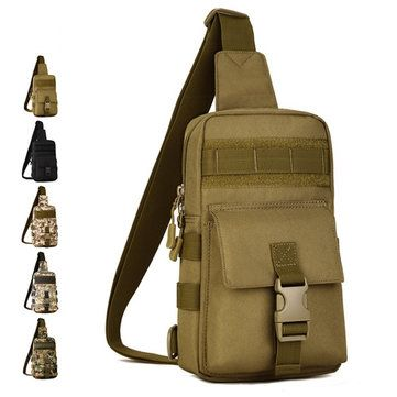 Men s Tactical Shoulder Bag Backpack Sling Chest Bag Assault Pack Messenger  Bag is worth buying - 6f03927f1f58c