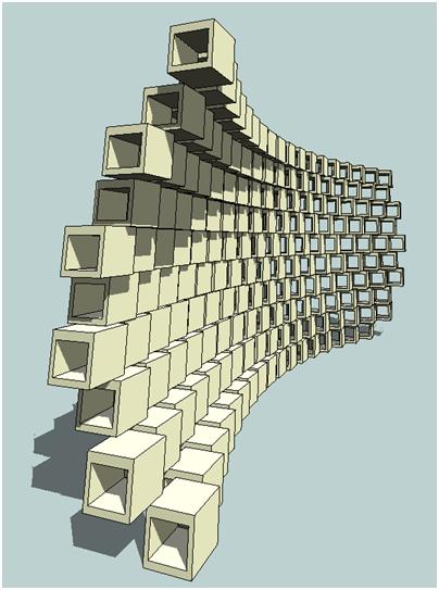 Buildz Orthogonal On Placement Making A Brick Wall Brick Revit Architecture Brick Facade