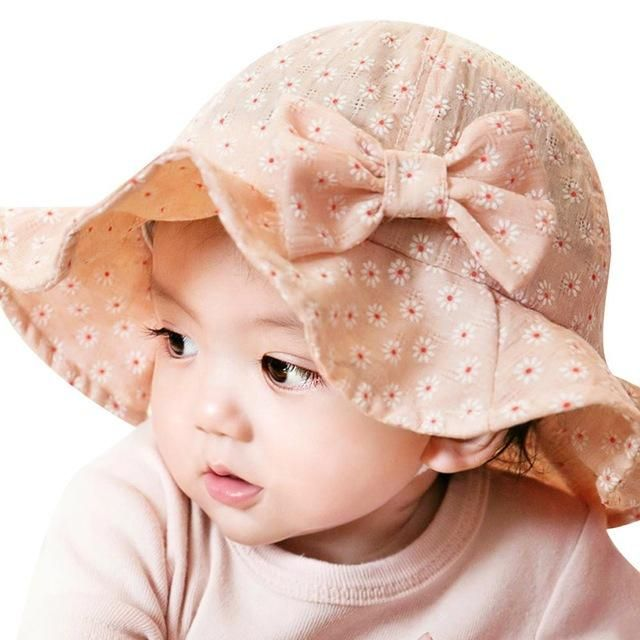 a165058b3 Cotton Blends Baby Hat Toddler Infant Sun Cap Summer Outdoor Baby ...
