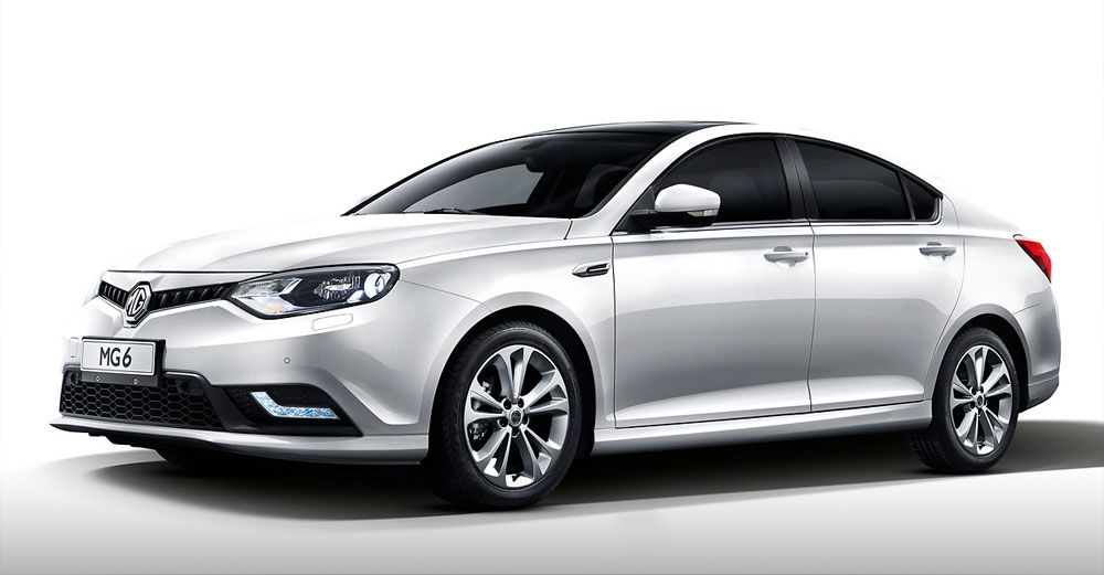 New Release Mg6 Facelift 2015 Review Front Side View Model New