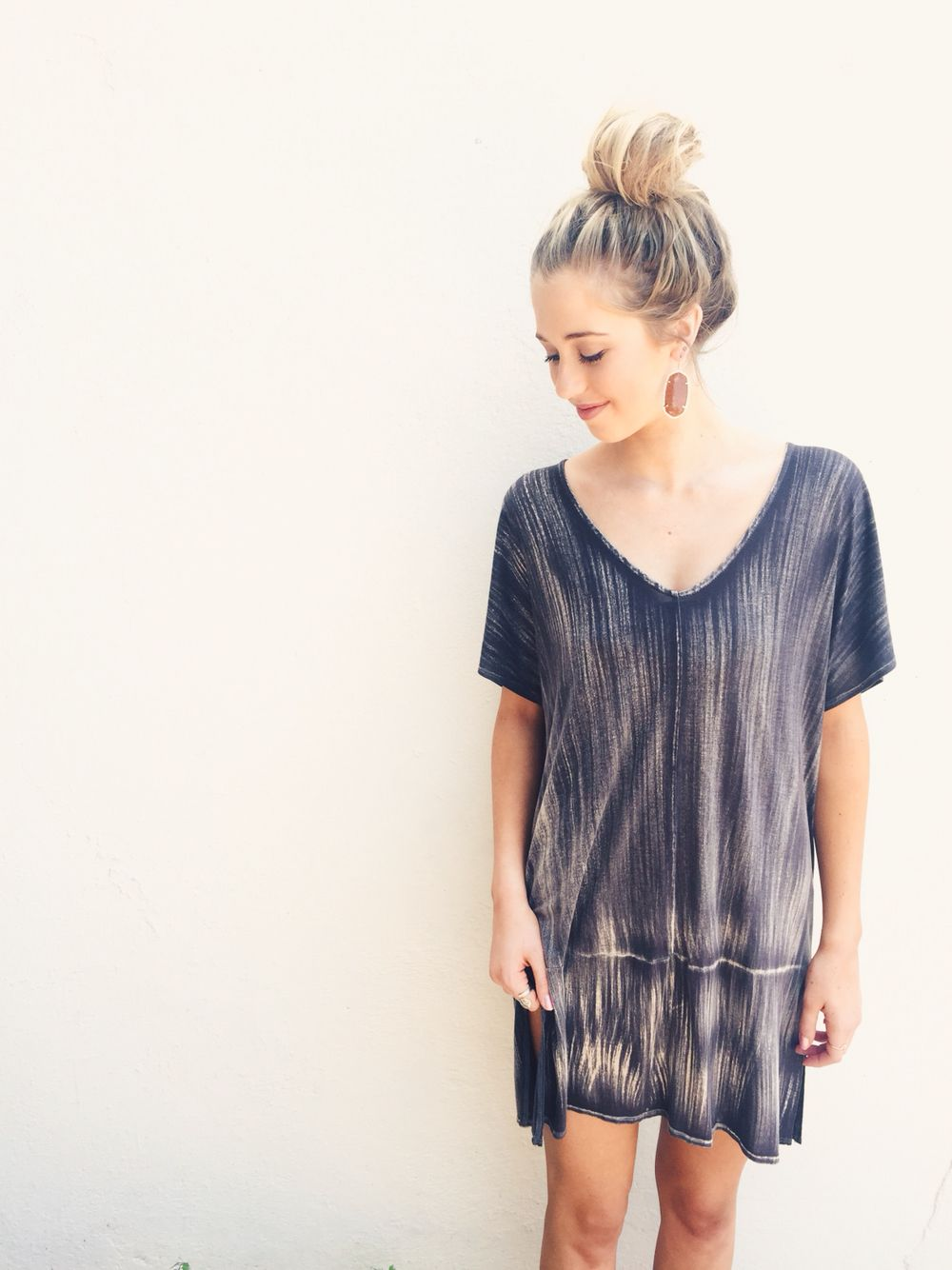 Bella Dahl Tee Dress // $54.00