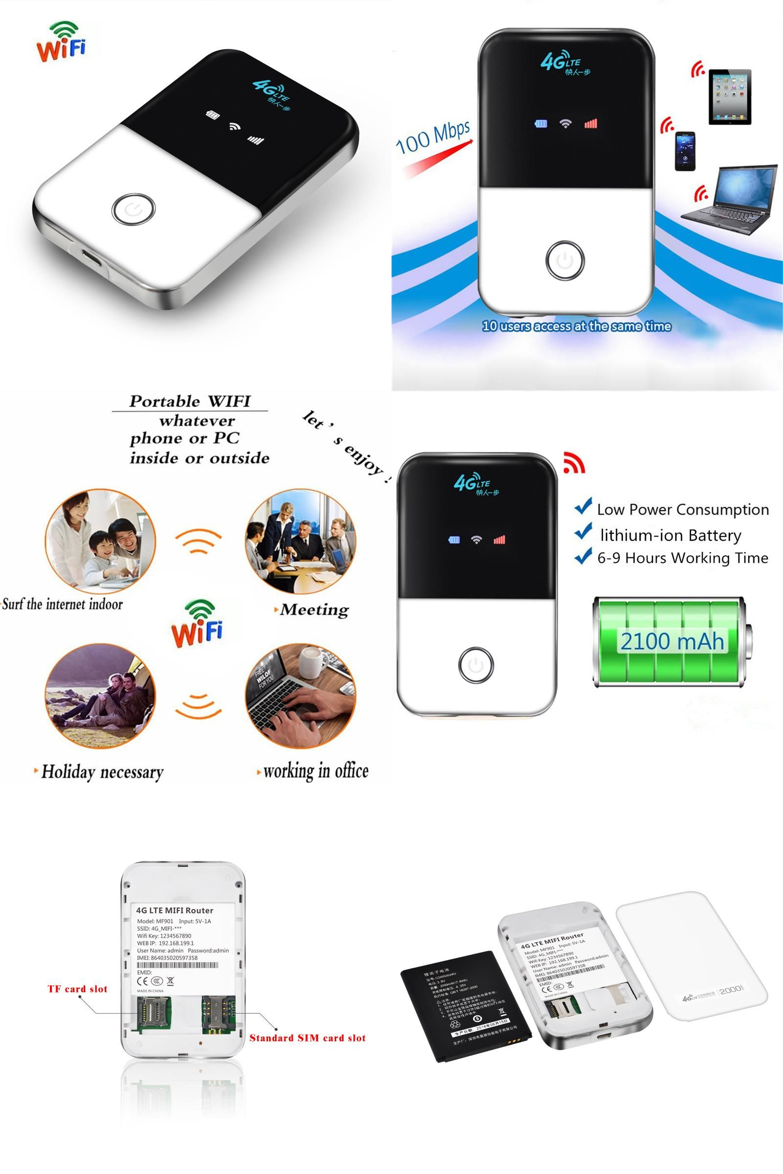 Visit to Buy] 4G Lte Pocket Wifi Router Car Mobile Wifi